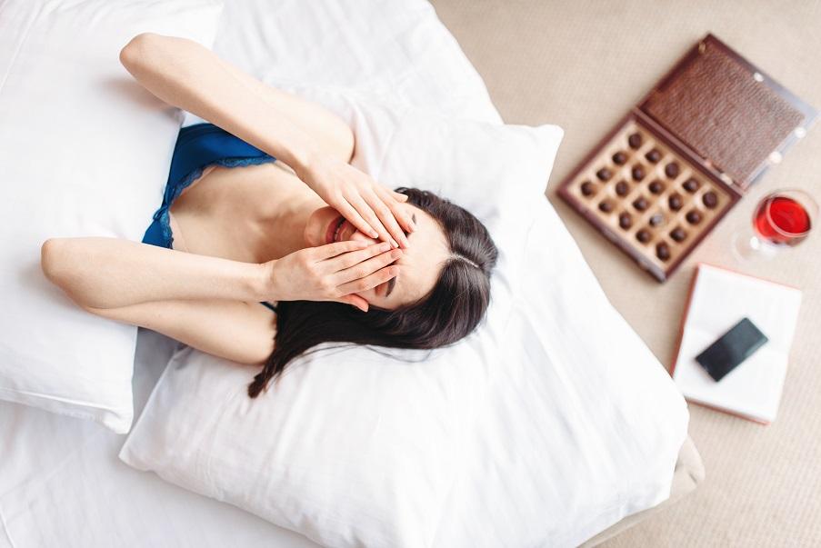 Organische Ursache von Schlafstörungen ist häufig Stress